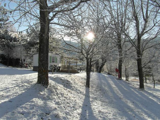 le camping sous la neige (2)